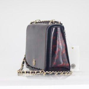 46596c47037 Tory Burch Bags - Tory Burch Patent Robinson Adjustable Shoulder Bag